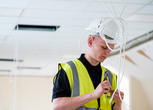 essex schools electricial contrcators