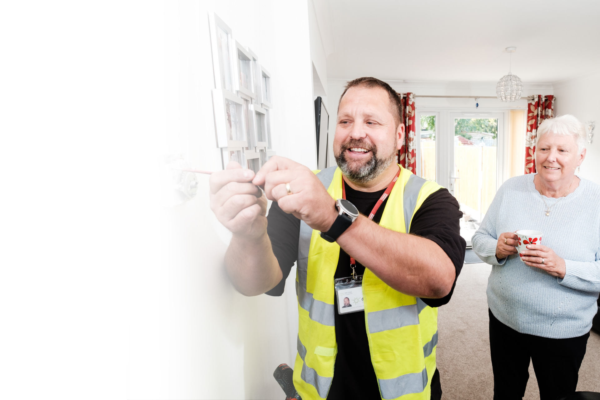 social housing electrician