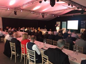 Delegates listening to a presentation at the DSA Electrical Safety Seminar 2020